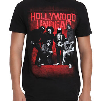 Hollywood Undead Group T-Shirt