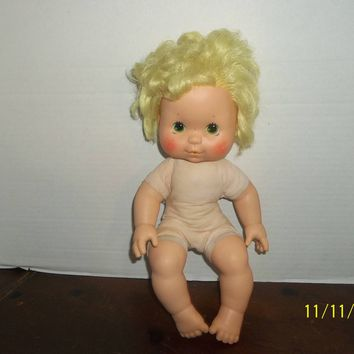 vintage 1982 strawberry shortcake lemon meringue blow kiss kisses baby doll naked