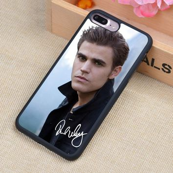 Vampire Diaries Stefan Salvatore Soft Rubber Mobile Phone Case OEM For iPhone 6 6S Plus 7 7Plus 5 5S 5C SE 4 4S Back Cover Shell