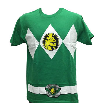 Power Rangers - Green Ranger Uniform Costume T-Shirt