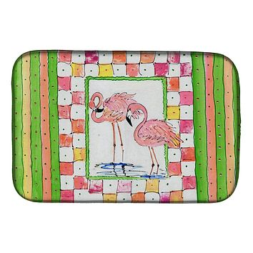 Bird - Flamingo Dish Drying Mat 8077DDM