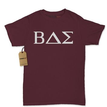 BAE Greek Lettering Fraternity Sorority Womens T-shirt