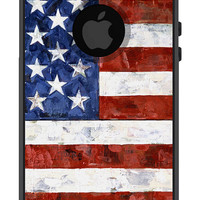 Otterbox iPhone Case Commuter Series iPhone 5 5s American Flag USA United States Military Patriotic Protective Plastic Hard Cover OB-1086