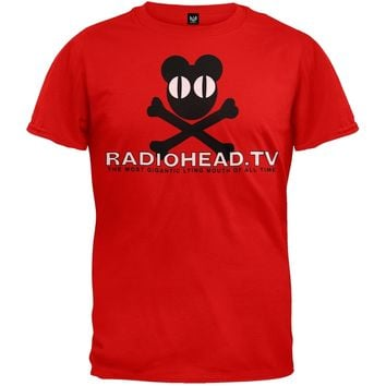 Radiohead - Radiohead Tv Soft T-Shirt