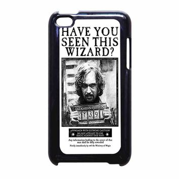 Sirius Black Wanted Poster iPod Touch 4 Case