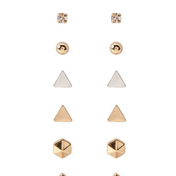 Mixed Geo and Bauble Stud Set