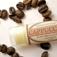 Cappuccino Lip Balm - Coffee Lip Balm - Unsweetened