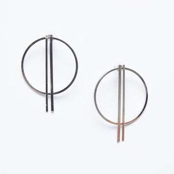 Raise The Bar Geometric Earrings