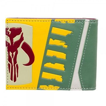 Star Wars Boba Fett Bi-Fold Boxed Wallet