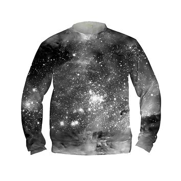 Black & White Cosmos Sweatshirt