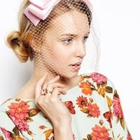 Limited Edition Bow Veil Headband