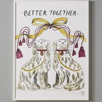 High Spirits Wall Art by Molly Hatch White Better Together House & Home