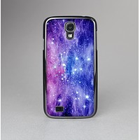 The Purple and Blue Scattered Stars Skin-Sert Case for the Samsung Galaxy S4