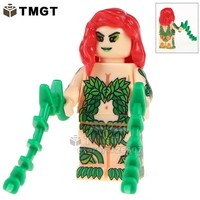 TMGT WM387 Poison Ivy Single Sale Super Heroes DC Batman Harley Quinn Building Blocks Bricks Collection Best Children Gift Toys