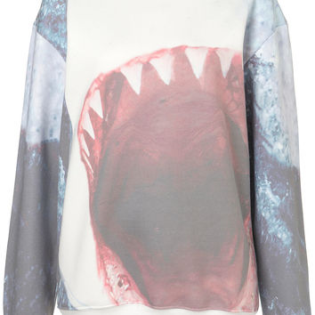Shark Sweat By Tee And Cake - Jersey Tops - Clothing - Topshop USA