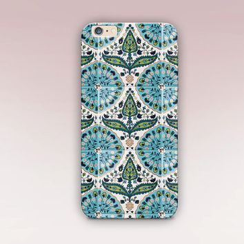 Vintage Tile Phone Case For - iPhone 6 Case - iPhone 5 Case - iPhone 4 Case - Samsung S4 Case - iPhone 5C - Matte Case - Tough Case