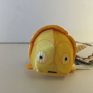 disney usa authentic star wars C-3PO tsum mini plush new with tags