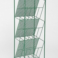 Magazine Rack in Green - Urban Outfitters