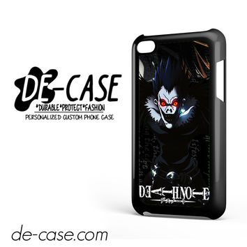 Death Note Japan Manga DEAL-3112 Apple Phonecase Cover For Ipod Touch 4