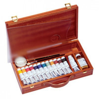 Sennelier Luxury Wood Box Painting Sets