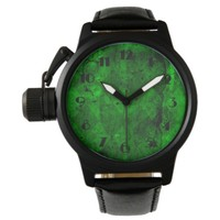 Retro Grunge Vintage Texture Pattern Wrist Watch