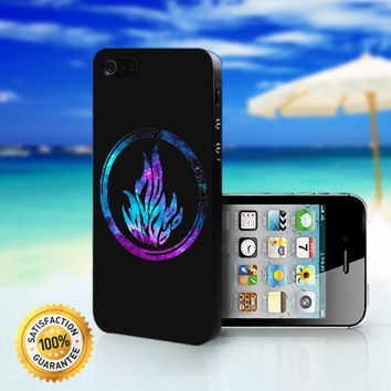 Divergent Dauntless The Brave Logo in Galaxy - For iPhone 4/4s, iPhone 5, iPhone 5s, iPhone 5c case. Please choose the option