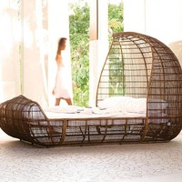 Voyage Bed by Kenneth Cobonpue