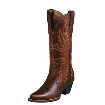 """Ariat 10005908 Heritage Western X Snip Toe 14"""" Cowgirl Fashion Riding Boots"""