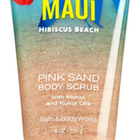 "Pink Sand Body Scrub <a href=""http://m.bathandbodyworks.com/product/index.jsp?productId=29070036&cm_vc=200&"" data-params="""">Hawaii Passionfruit Kiss</a>"