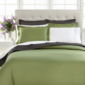 CLOSEOUT! Charter Club Bedding, Damask 500 Thread Count Solid Queen Bedskirt | macys.com