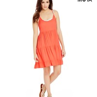 Aeropostale  Womens Strappy Solid Sundress