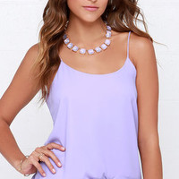 Moon Over My Cami Lavender Tank Top