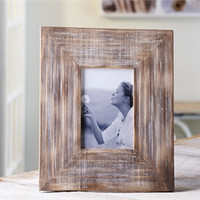 Pine wood photo frame