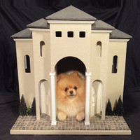 HOLIDAY SALE - Indoor Dog Den - The Villa by Simba's Castles