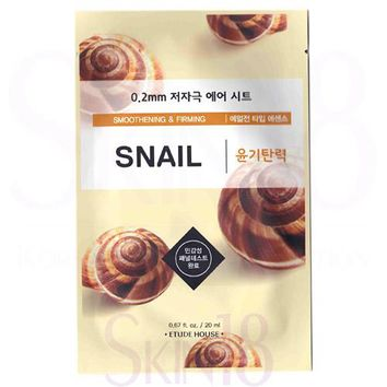 Etude House 0.2 Therapy Air Mask #Snail