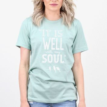 It is Well with My Soul S/L Tee {H. Sage}