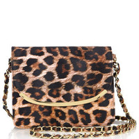 Leopard Print Cross Body Bag - View All Accessories  - Accessories