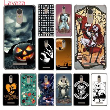 Lavaza Nightmare Before Christmas alloween Hard Phone Cover Case for Xiaomi Redmi 4A S2 6 Note 5 Plus 3 3S 4 Pro 4X 5A Prime