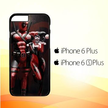 Harley Quinn and Deadpool Y1742 iPhone 6 Plus|6S Plus Case