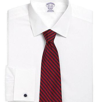 Supima? Cotton Non Iron Regular Fit Ainsley French Cuff Dress Shirt   Brooks Brothers