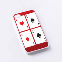 poker card iPhone 4/4S, 5/5S, 5C,6,6plus,and Samsung s3,s4,s5,s6