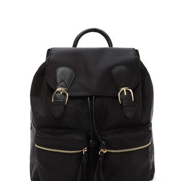 Unstructured Nylon Backpack