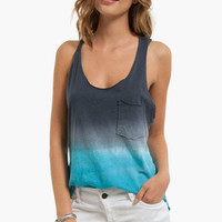 High Tide Ombre Tank Top $33