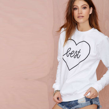 Unique Womens Casual Letter Sweater Love Top Gift-41