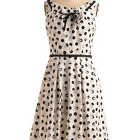 About a Bow Dress | Mod Retro Vintage Printed Dresses | ModCloth.com