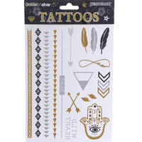 Mimi Flash Temporary Tattoo Sheet
