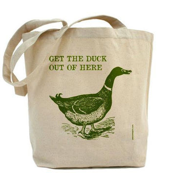 Get The Duck Out Of Here by PamelaFugateDesigns