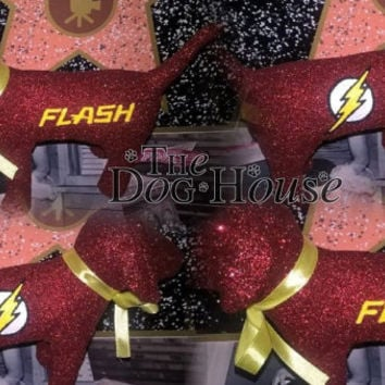 INSTOCK Comic The Flash Victoria Secret Customized Puppy Dog