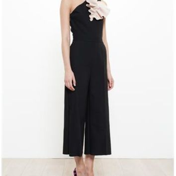 MSGM | Crepe Jumpsuit | brownsfashion.com | The Finest Edit of Luxury Fashion | Clothes, Shoes, Bags and Accessories for Men & Women