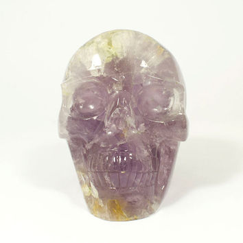 Amethyst Skull  -  called Saint Bernard    -    Skull from my personal collection